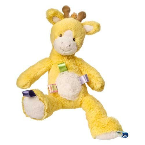 41nVJ8P4d2L Taggies Oh So Softies Plush Giraffe, Yellow