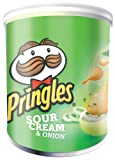 Pringles Sour Cream and Onion Flavour 40 g (Pack of 12)
