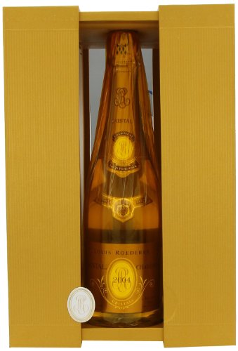 Louis Roederer Cristal Vintage 2004 Champagne Gift Boxed 75cl