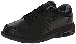 New Balance Women\'s WW813 Walking Lace Shoe, Black, 8 D US