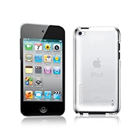 TUNEWEAR ��4����iPod Touch�Ή��n�[�h�P�[�X eggshell for iPod touch 4G �N���A TUN-IP-000133
