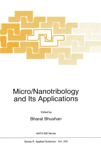 Micro/Nanotribology and Its Applications (Nato Science Series E:)