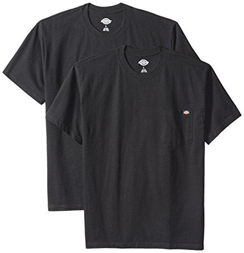 dickies-mens-2-pack-short-sleeve-pocket-t-shirts-black-extra-large