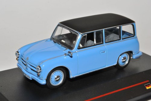 AWZ P70 Kombi Blau 1957 IST 172 1/43 Ist Ixo Modell Auto