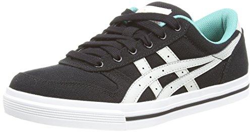 Asics Aaron Hn528, Unisex-Erwachsene Sneakers, Schwarz (black/soft Grey 9010), 42.5 EU thumbnail