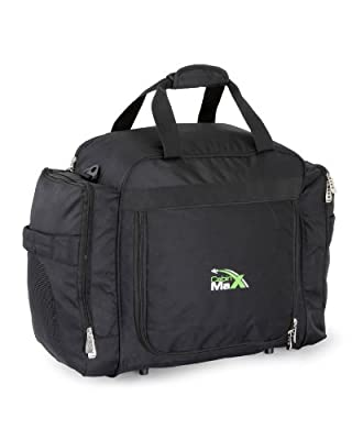 Cabin Max Holdall - Flight Approved Hand luggage Laptop Backpack Leightweight 1.1kg 55x40x20 cm - Ideal for Ryanair Includes 2 x FREE packing cubes from Cabin Max