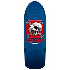 ... powell peralta tony hawk nos 80s xl royal blue skateboard t shirt