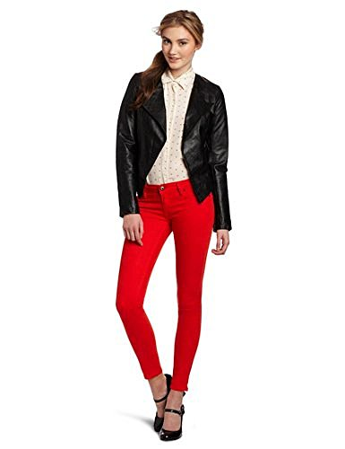 Bb Dakota Women'S Noe Leather Jacket, Black, Small