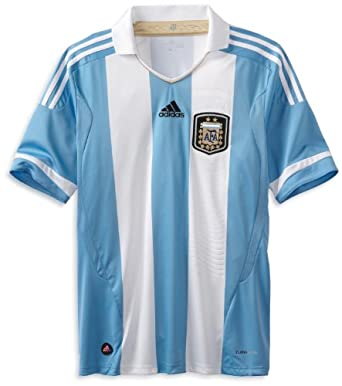 Argentina Home Authentic Soccer Jersey, Medium