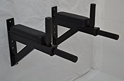 Wall Mounted Knee Bend Leg Raise Dip Bar Abdominal / Dipping Station VKR Ab Crossfit