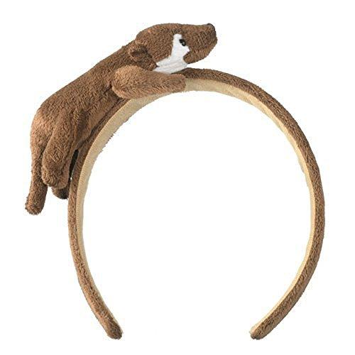 River Otter Headband Plush Wildlife Artists - 1