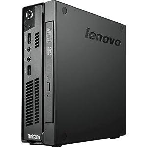 Lenovo ThinkCentre M92p 2121D6U Desktop Computer - Intel Core i5 i5-3470T 2.9GHz - Ultra Small - Business Black TOPSELLER THINKCENTRE M92P TINY I5-3470T 4GB 500GB W7P 64BIT 4 GB RAM - 500 GB HDD - DVD-Writer - Intel HD 2500 Graphics - Wi-Fi - Genuine Windows 7 Professional - DisplayPort