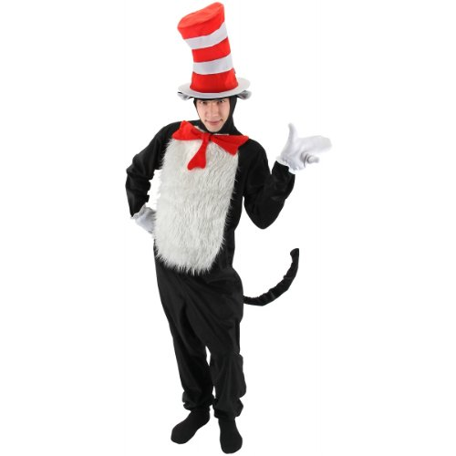 Cat in the Hat Costume - Large/XL - Chest Size 46-48