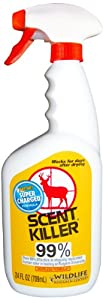 Wildlife Research Super Charged Scent Killer Spray, 24-Ounce by Wildlife Research