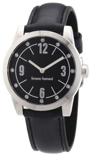 Bruno Banani Women's Quartz Watch TARAS LADIES BR21116 with Leather Strap