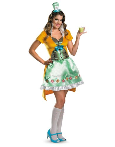 Sassy Mad Hatter Adult Costume