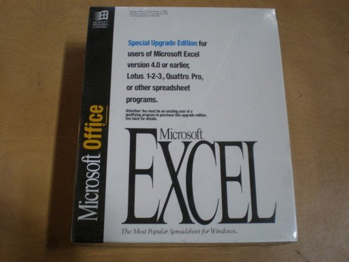 *New* Microsoft Excel Special Upgrade Edition - Most Popular Spreadsheet Program - Vintage Rare Look front-781892