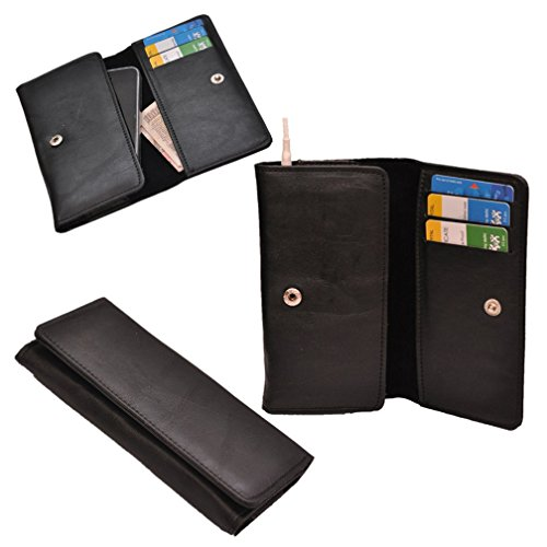 Ding Dong PU Leather Mobile Wallet Flip Pouch Case Cover For XOLO Omega 5.0  available at amazon for Rs.289