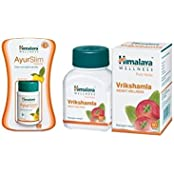 Himalaya Weight Wellness Combo (Ayurslim & Vrikshamla) Pack Of 2 Each