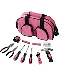69 Pc. Ladies Essential Tool Kit, Pink-DT-0423P by Apollo