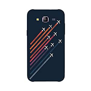 Back cover for Samsung Galaxy A7 Aerial Acrobat