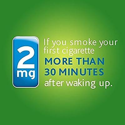 Nicorette Nicotine Gum Fresh Mint 2 milligram Stop Smoking Aid