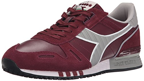 Diadora Men's Titan Leather L/S Running Shoe, Advent Violet, 12 M US
