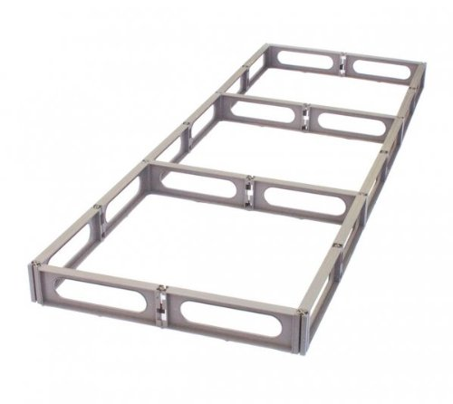 "Hi & Dri Storage Pallet (large grid kit) (Brown) (3.5""H x 70""W x 24""D)"