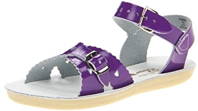 Salt-Water Sandals 1409s Kids Salt-Water Sandal - Purple - size 13