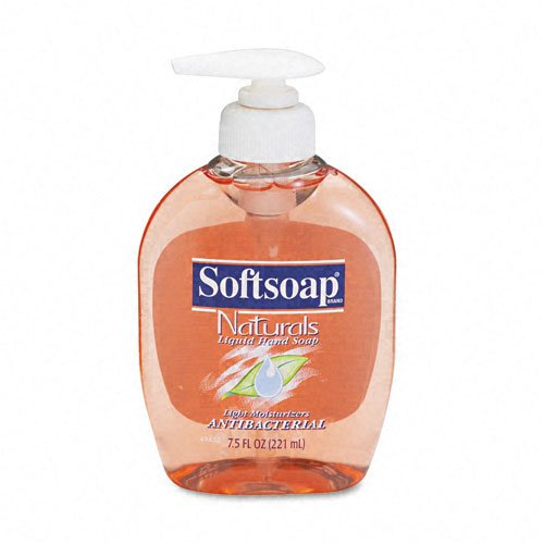 Colgate-Palmolive Antibacterial Moisturizing Soap, Unscented Liquid, 7.5oz Pump Dispenser