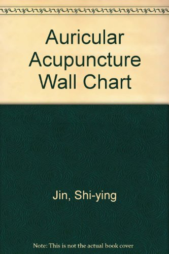 Auricular Acupuncture Point Wall Chart (English-Chinese) (Auricular Chart compare prices)