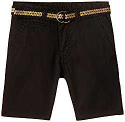 United Colors of Benetton Baby Boys Shorts (15P4AC359041I1000Y_Black_0Y)