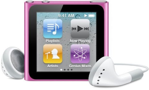Apple iPod nano 16GB ピンク MC698J/A 【最新モデル】