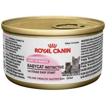 Royal Canin  Baby Cat Instinctive- 24/3 oz cans