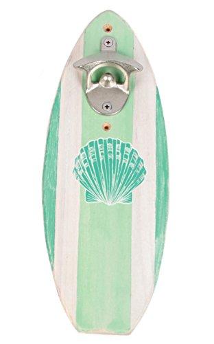DEI Wood Surfboard Wall Bottle Opener (Bottle Opener Board compare prices)