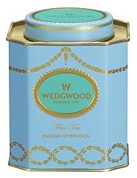 Wedgwood Everyday Luxury English Afternoon Caddy, 125g, Blue