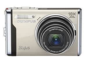 Olympus Stylus 9000 12 MP Digital Camera with 10x Wide Angle Optical Dual Image Stabilized Zoom and 2.7-Inch LCD (Champagne)