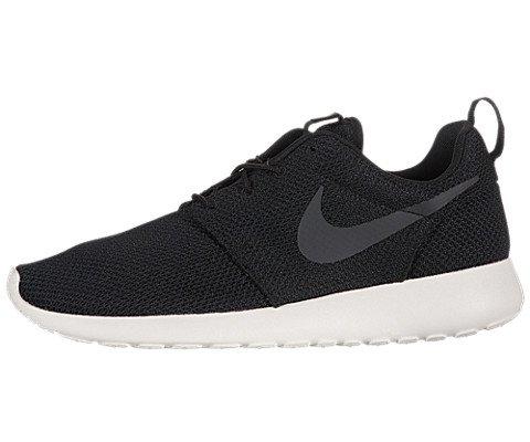 Nike Men's Rosherun Black/Anthracite/Sail Running Shoe 8.5 M