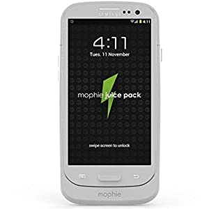 Mophie Juice Pack Galaxy SIII - Retail Packaging - White
