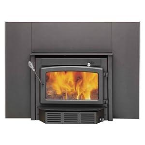 Century Wood Burning Insert For Fireplace 65000 Btu 500-1800 Sq. Ft.