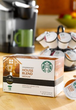 Starbucks Decaf House Blend Coffee K Cup 48 Count front-626350