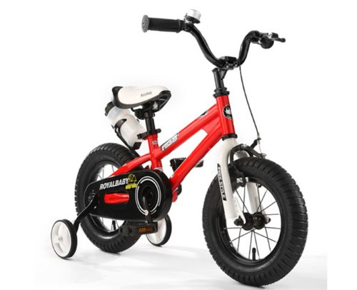 RoyalCycle BMX Freestyle, 12 Inch, Kids Bike, Boys Bike, Girls Bike, Steel Frames (Red, 12 inch)