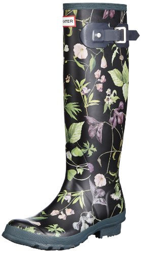 Hunter Unisex-Adult Rhs Tall Black Mix Wellington Boot W23605 6 UK