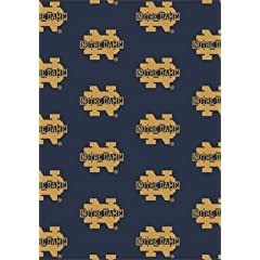 Notre Dame Fighting Irish 7 8 x 10 9 Team Repeat Area Rug by Milliken