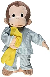 Gund Curious George Dressed in Pajamas 16 Plush