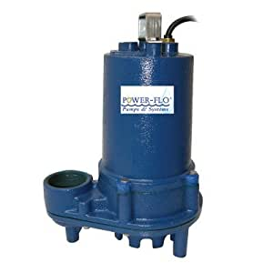 HP Effluent Submersible Pump with 11 Amps Manual Operation