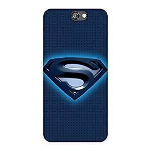 Enticing uper Blue Back Case Cover for HTC One A9