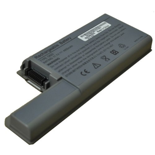 9-Stall DELL Latitude D820 D830 D531 Replacment Battery fits 3120394 3120538 XD735 XD736 YD624 DF230 DF249 FF231 0MM160 312-0538 MM165 312-0538 310-9123 [7200 mAh]