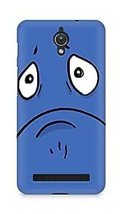 Amez designer printed 3d premium high quality back case cover for Asus Zenfone C ZC451CG (blue face )