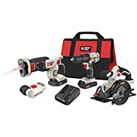 Porter-Cable 20V Max Cordless Lithium-Ion 4-Tool Combo Kit